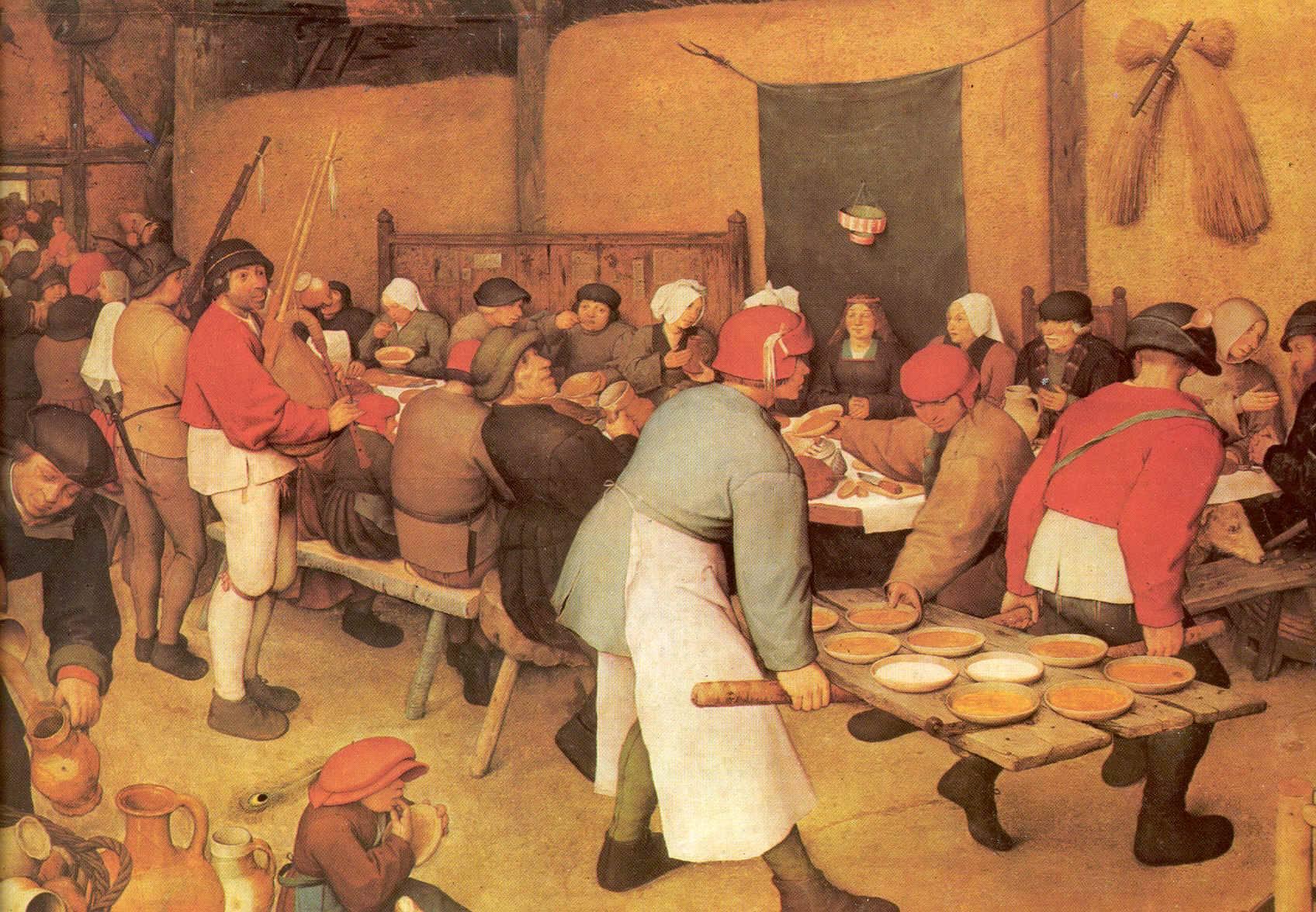Pieter Breughel de Oudere, Boerenbruiloft 1565-1566