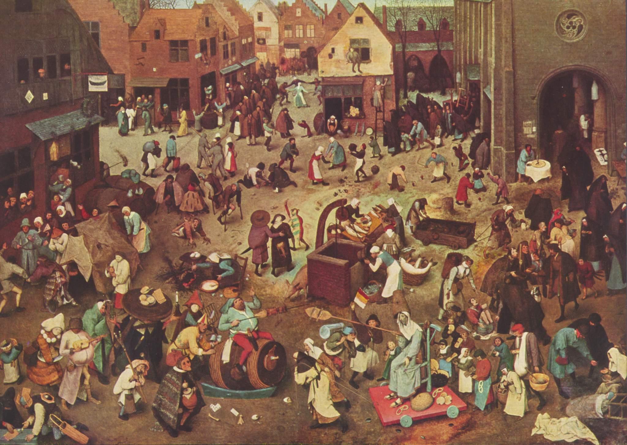 Pieter Breughel de Jongere, Gevecht tussen Carnaval en Vasten