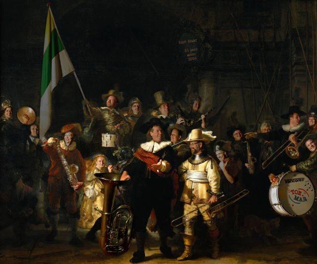 Rembrandt(?!), Nachtwacht