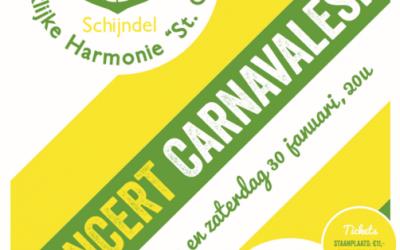 Nieuw in Schorsbos: Concert Carnavalesk