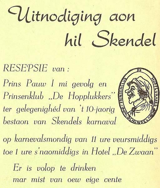 Schorsbos.nl - Uitnodiging aon hil Skendel