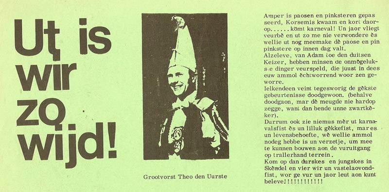 Schorsbos.nl - Ut is wir zo wijd