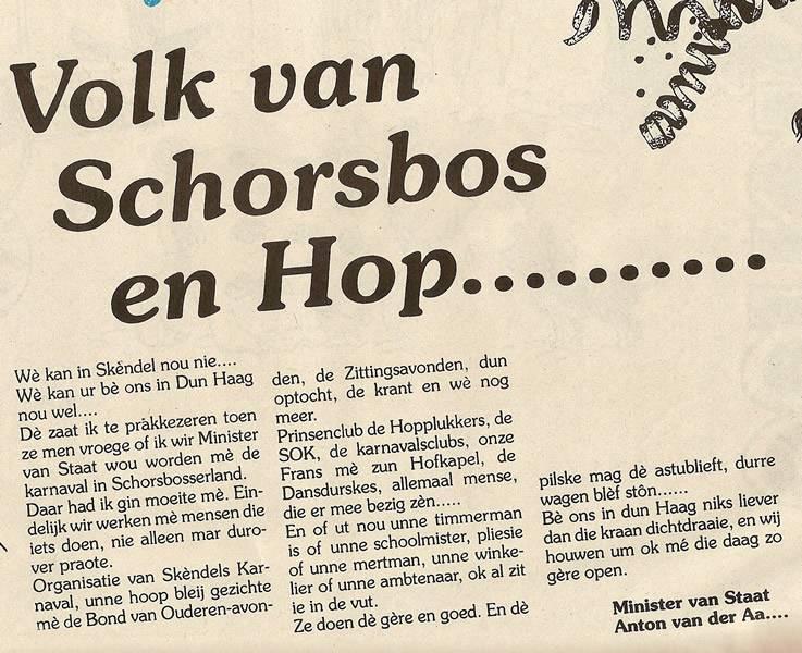 Schorsbos.nl - Volk van Schorsbos en hop