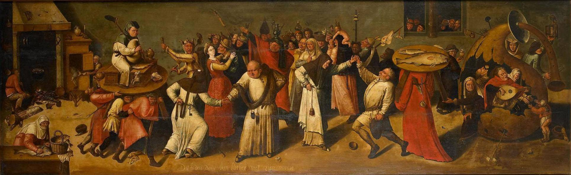 Navolger Hieronymus Bosch, De strijd tussen Carnaval en vasten